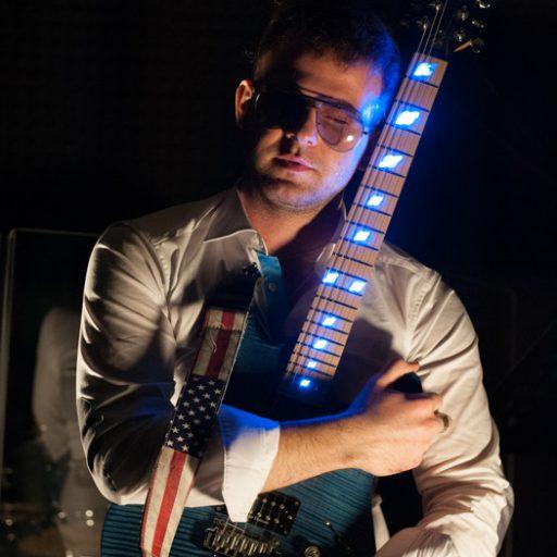 Michele Romeo e la sua chitarra